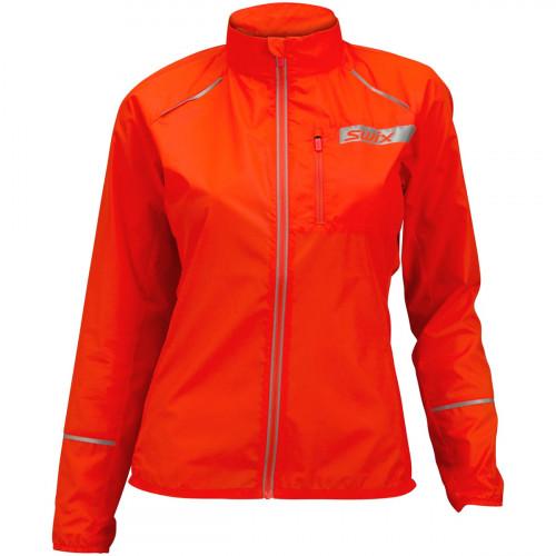 Swix Radiant Jacket Women Neon Red