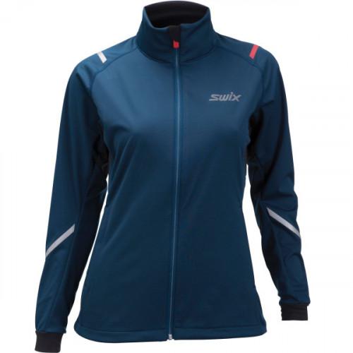 Swix Cross Jacket Women's Majolica Blue