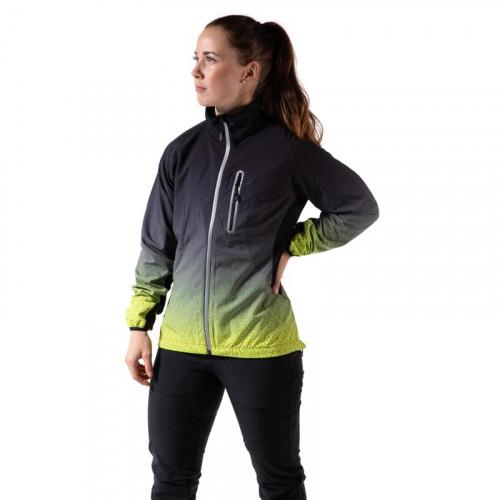 180 bpm Hellner Hybrid Jacket Women Black/Yellow