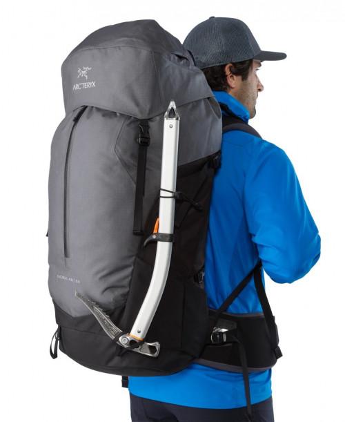 Arc'teryx Bora AR 63 Backpack Men's Titanium