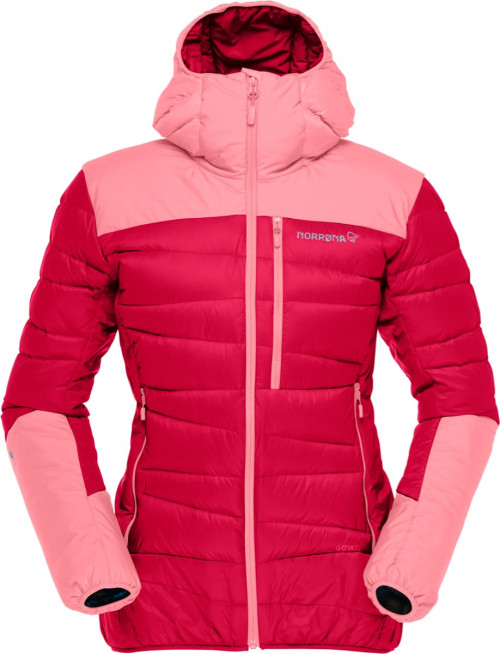 Norrøna Falketind Down750 Hood Jacket (W) Jester Red