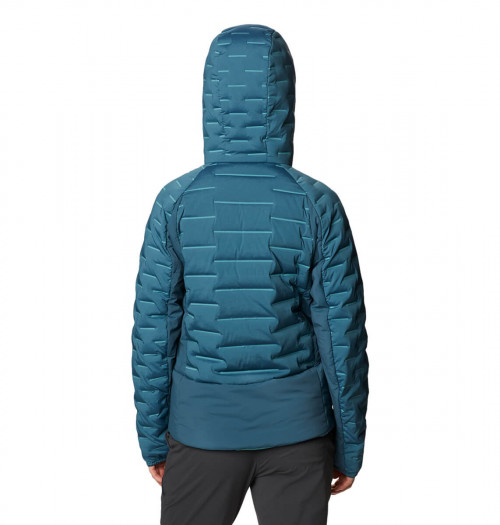 Mountain Hardwear Stretchdown™ Hybrid Hoody W Icelandic
