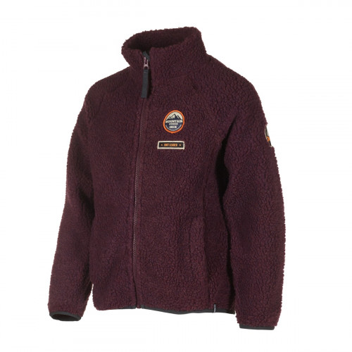 Urberg Giske Pile Fleece Jr Black Plum
