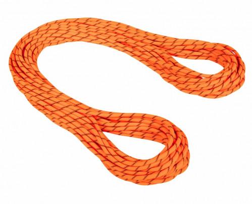 Mammut 8.7 Alpine Sender Dry Rope 60 m Safety Orange-Black