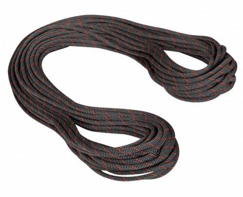 Mammut 9.8 Crag Classic Rope 60 m Black-White