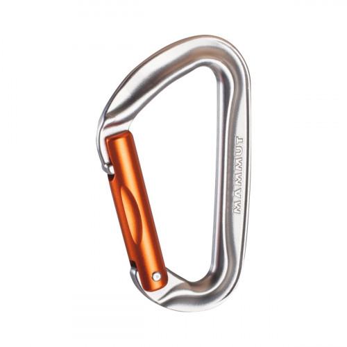 Mammut Wall Key Lock Straight Gate, Silver
