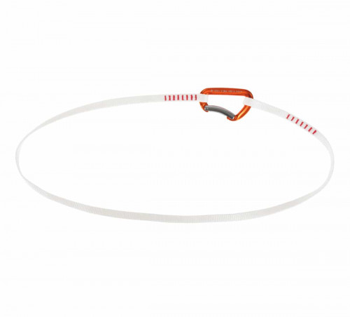 Mammut Alpine Trad Sling Bent Gate, Orange-White 120 cm
