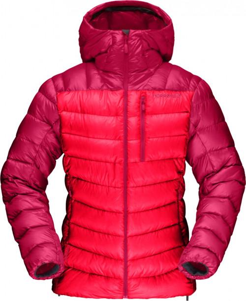 Norrøna Lyngen Down850 Hood Jacket (W) Crisp Ruby