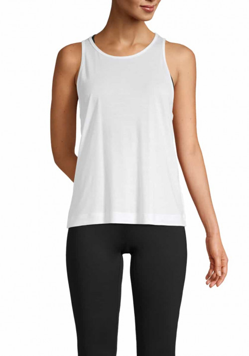 Casall Liquid Tencel Tank White
