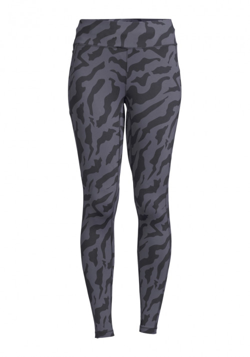 Casall Iconic Printed 7/8 Tights Escape Blue
