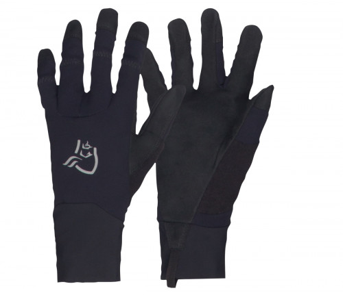 Norrøna Fjørå Windstopper Gloves (M/W) Caviar