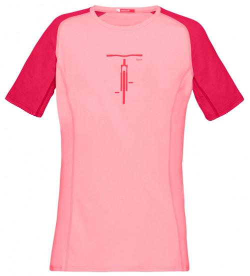 Norrøna Fjørå Equaliser Lightweight T-Shirt (W) Geranium Pink