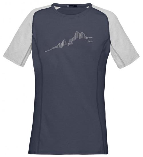 Norrøna Fjørå Equaliser Lightweight T-Shirt (W) Caviar/Drizzle