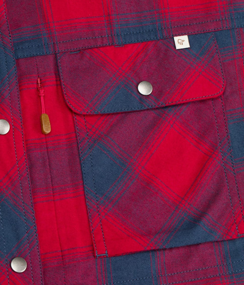 Norrøna Svalbard Flannel Shirt (M) Sandstone