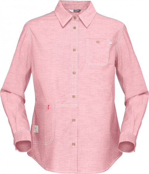 Norrøna Svalbard Cotton Shirt (W) Geranium Pink