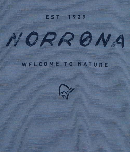 Norrøna Svalbard Wool T-Shirt (W) Coronet Blue