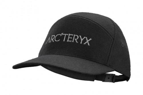 Arc'teryx 7 Panel Wool Ball Cap (Transition) Black Heather