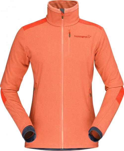 Norrøna Svalbard Warm1 Jacket (W) Flamingo/Pureed Pumpkin
