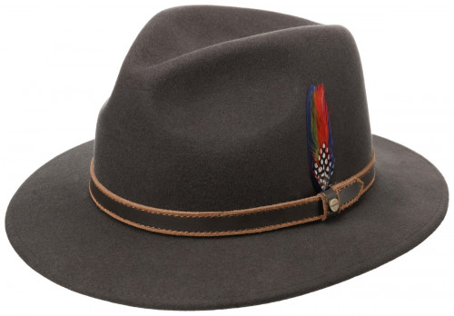 Stetson Traveller Woolfelt Dark Brown