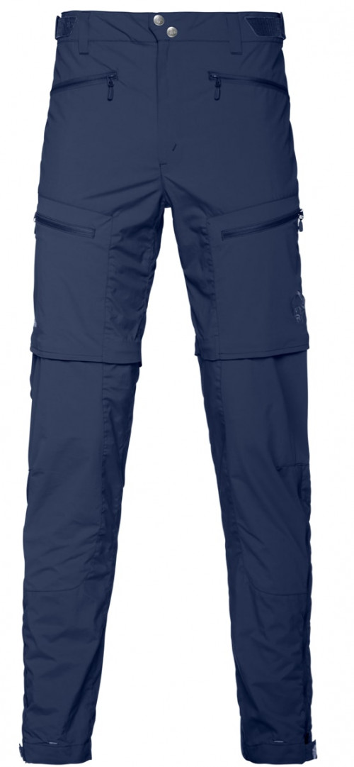 Norrøna Bitihorn Zip Off Pants Men's Indigo Night