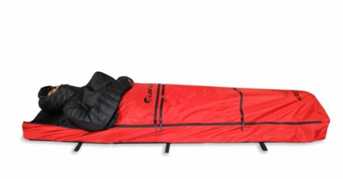 Fjellpulken Sleeper 200 M/Sittefunksjon Rød