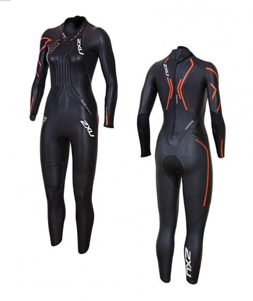 2XU Ignition Wetsuit- W Black/Desert Red