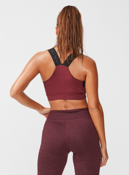 Röhnisch Kay Sports Bra Burgundy