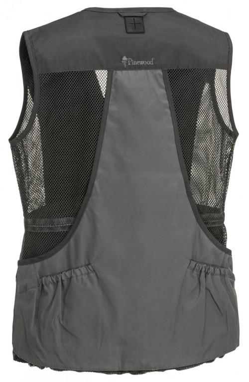 Pinewood Dog Sports Light Vest Women Dark Anthracite/Grey