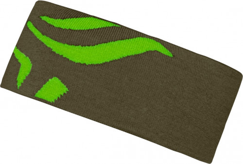 Norrøna /29 Mega Logo Headband Olive Night