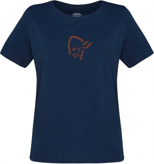 Norrøna /29 Cotton Viking T-Shirt W's Indigo Night