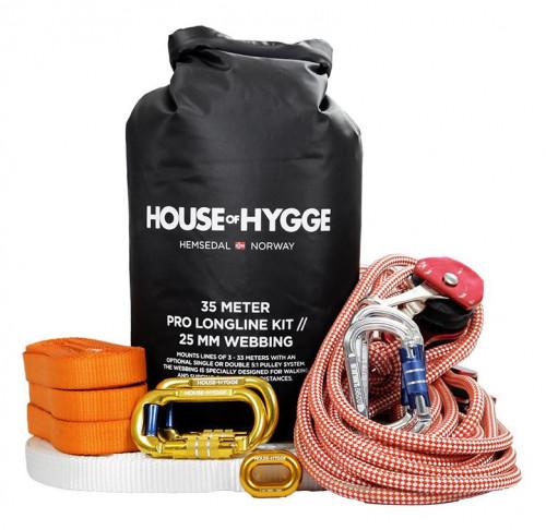 House Of Hygge, 35 meter Pro Slakkline® Kit