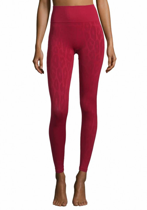 Casall Seamless Leo Tights Moving Red