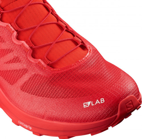 Salomon S/Lab Sense 7 Racing Red/White/White