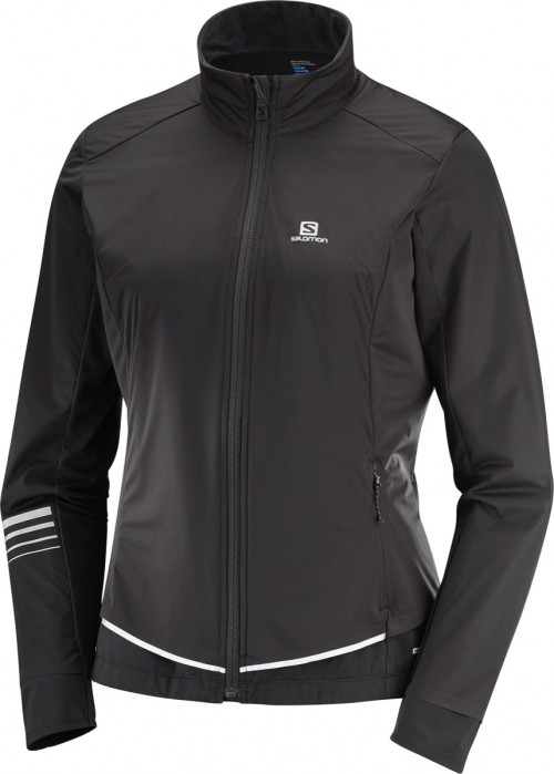 Salomon Lightning Lightshell Jacket Women's Black