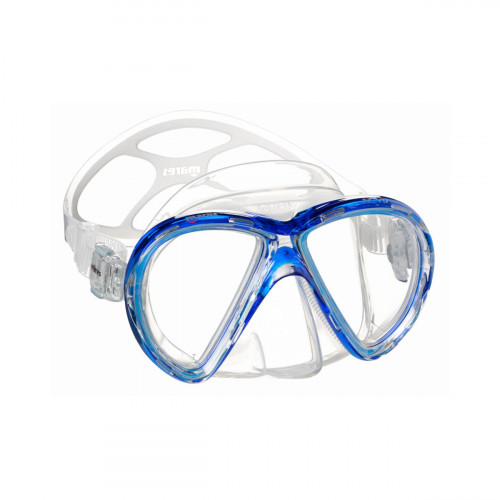 Mares Mask X-Vu Blue/Clear Adult