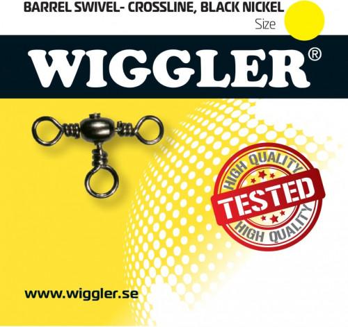Wiggler Trevägslekande Black Nickel