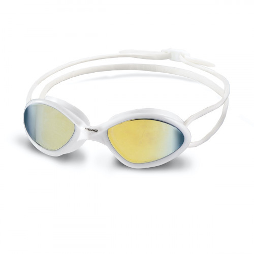 Head Tiger Mid Race Mirrored Goggle White/Smoke