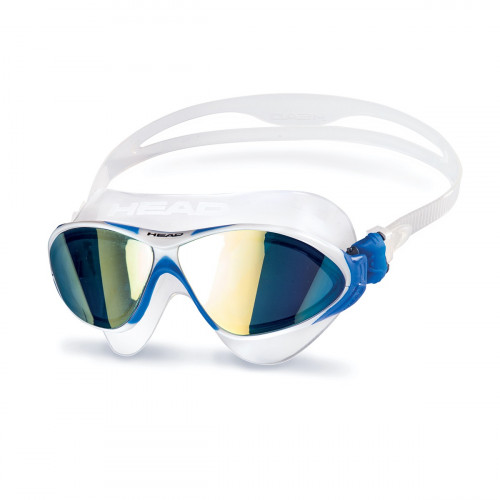 Head Horizon Mirrored Goggle/Mask Clear/Blue/Blue