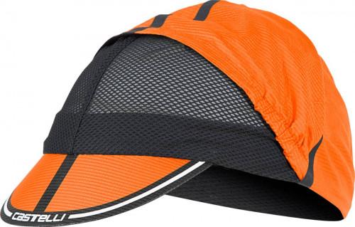 Castelli Ros Cycling Cap Orange UNI