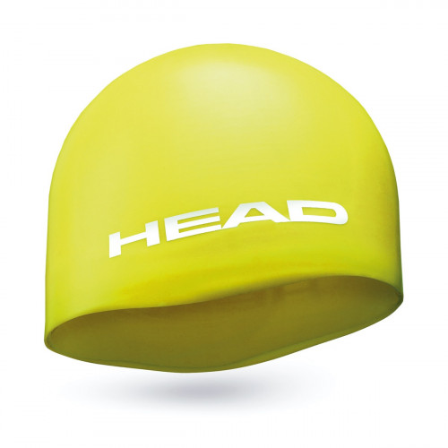 Head Cap Silicone Moulded Yellow
