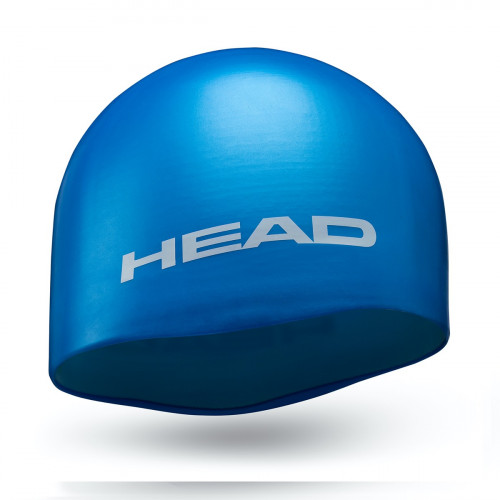 Head Cap Silicone Moulded Light Blue