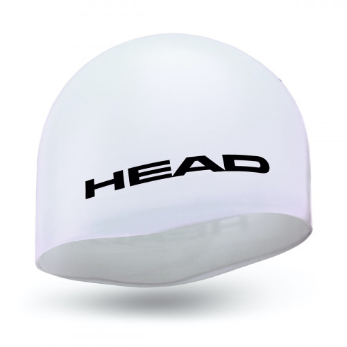 Head Cap Silicone Moulded White