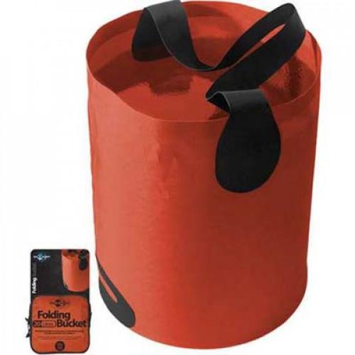 Sea To Summit Folding Bucket Nylon Red 10 L