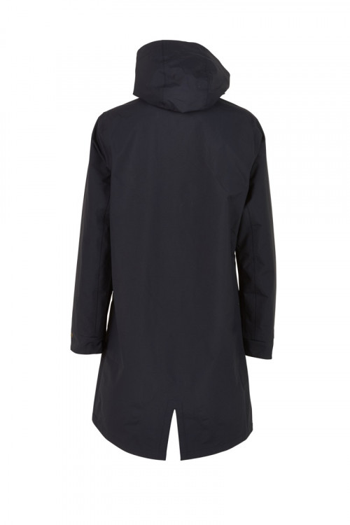 Tretorn Womens Rain Jacket From The Sea Deep End Black