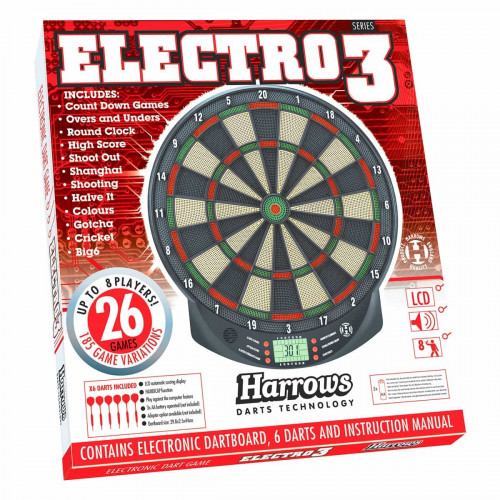 Harrows Electronic Dartboard Electro 3
