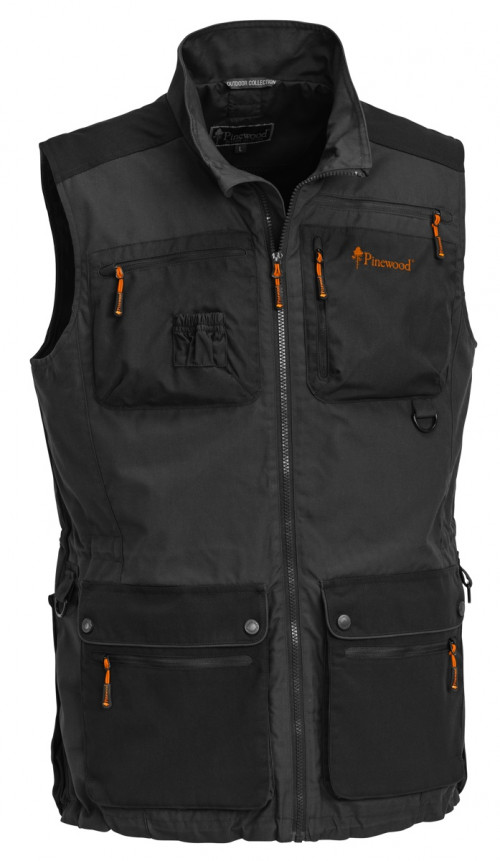 Pinewood New Dog-Sports Vest Dark Anthracite/Black