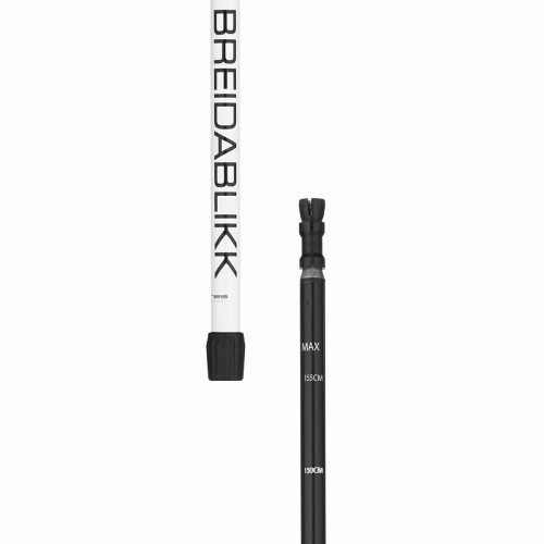 Åsnes Breidablikk Bc 2-Section Alloy Pole White