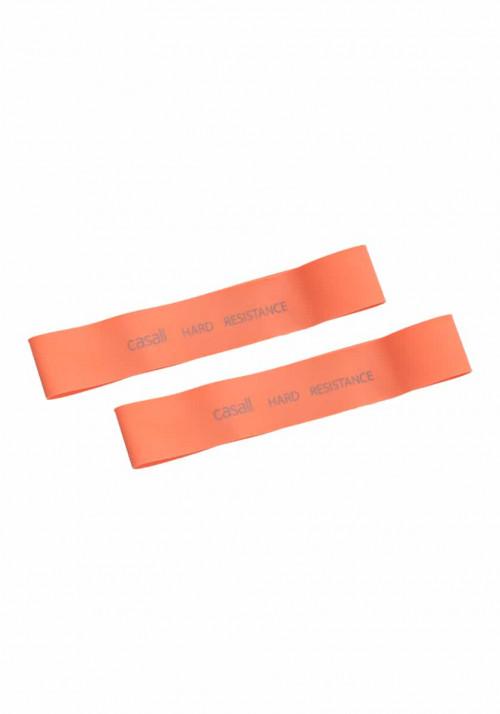 Casall Rubber Band Hard 2pcs Orange