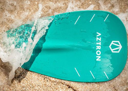 Aztron Mach Fiberglass 3-Section Paddle Aqua 180-220 cm