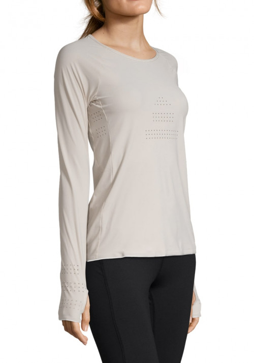 Casall Ventilation Long Sleeve Warm Sand